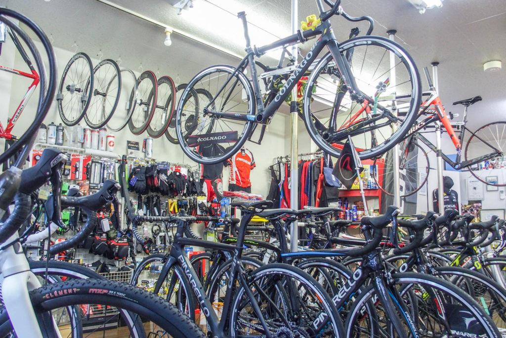 聖蹟桜ヶ丘 Notta Cycle(ノッタサイクル)の店内