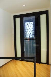 YKK APの顔認証でロック解除できるドア