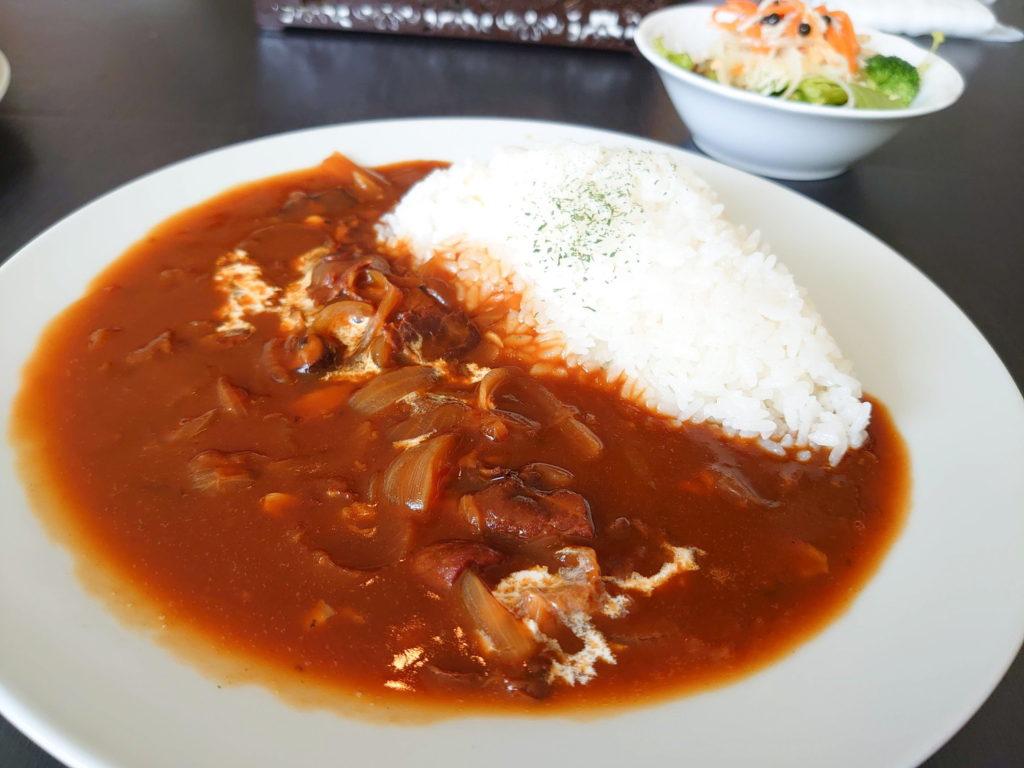唐木田のカフェ、カフェ・ド・スールのハヤシライス(ランチ)